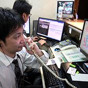 電話対応業務